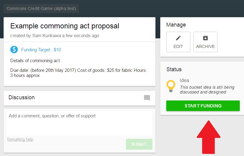 Start funding
